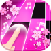 Flower Pink Piano Tiles – Girly Butterfly Songs v1.9 [MOD]