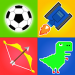 1 2 3 4 Player Games : mini game 2021 v2.3 [MOD]
