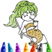 Mermaid Coloring Book Glitter v2.0 [MOD]
