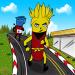 Subway Banana Dash: Surf of heroes in railway v6.0 [MOD]